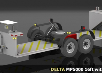 Delta Scientific High Security Vehicle Barricade Systems - DELTA MP5000 16ft with Trailer